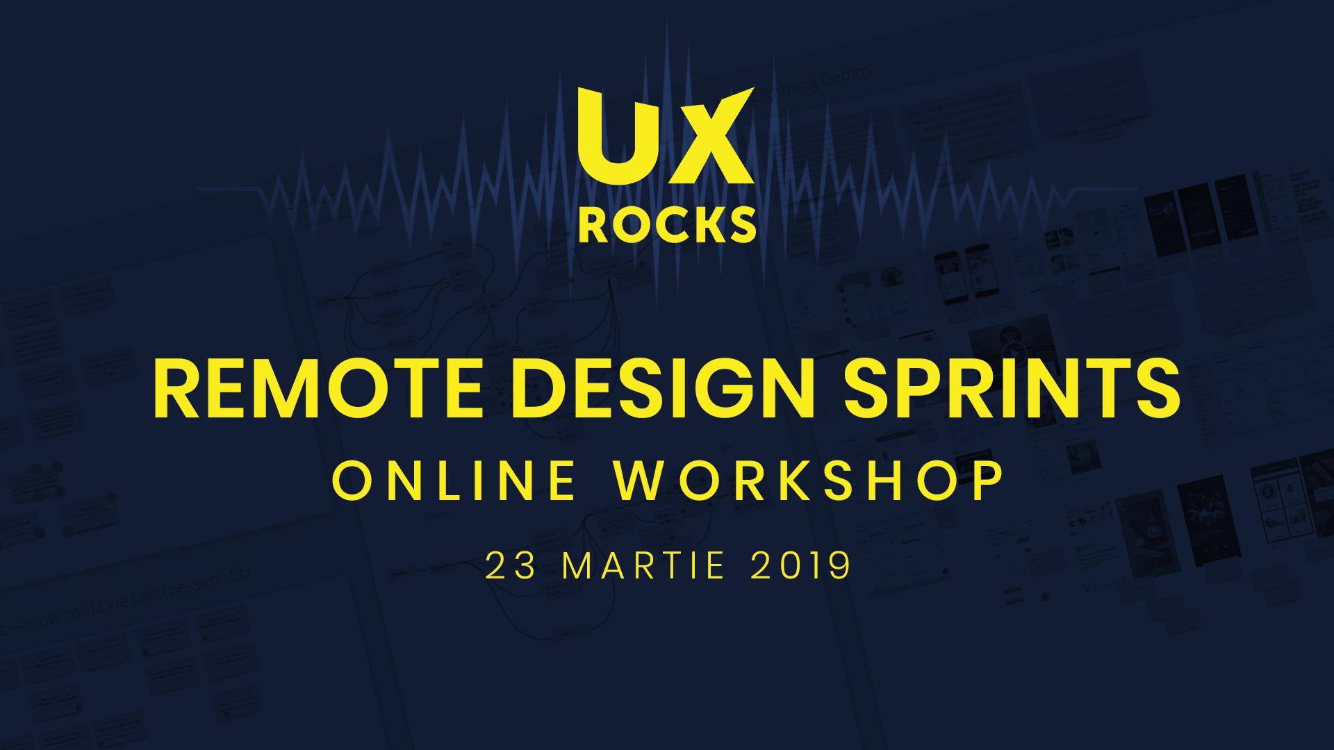 Remote Design Sprint – Online Workshop