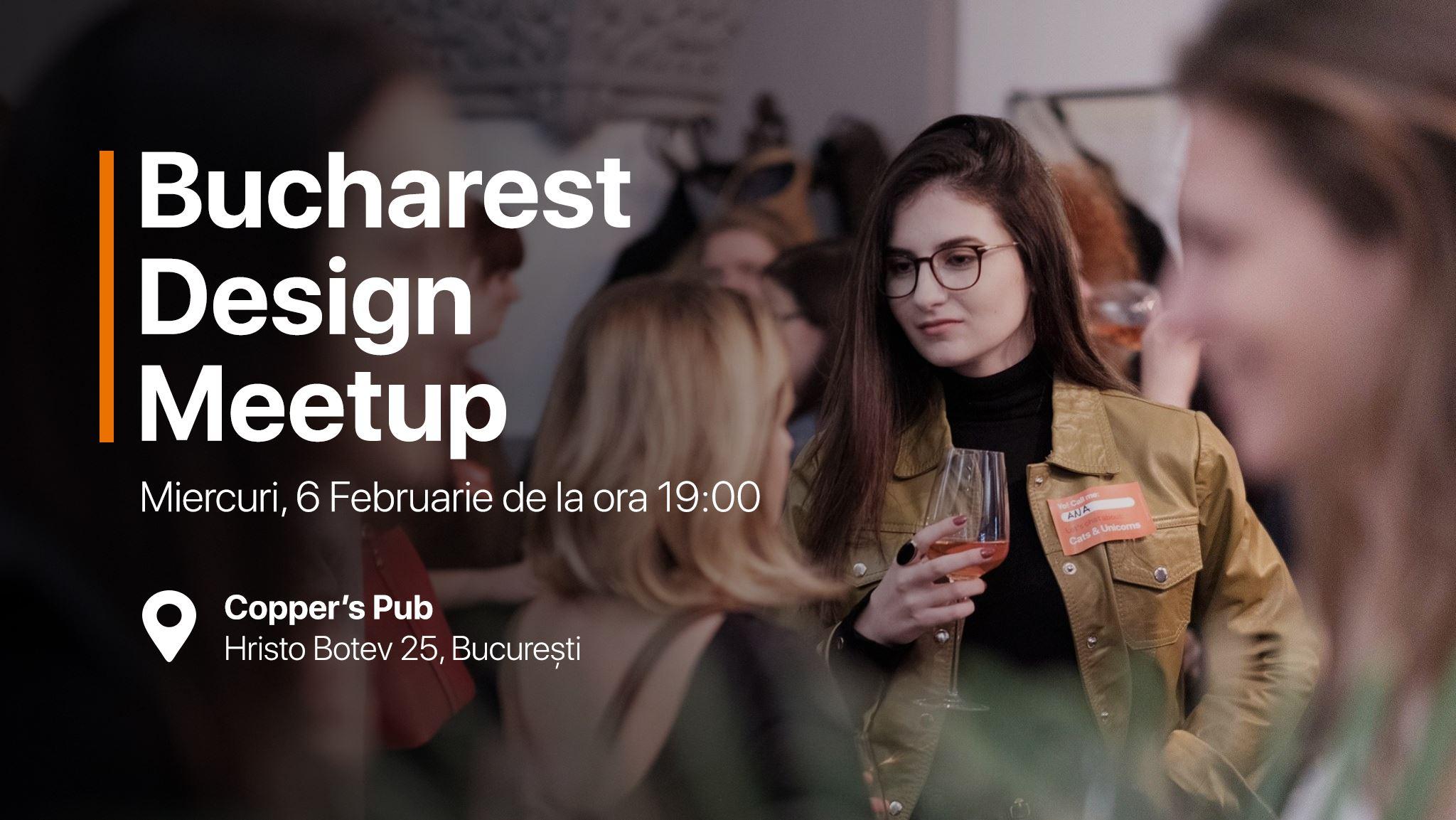 Bucharest Design Meetup #14