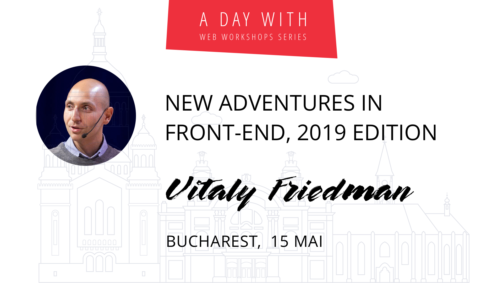New Adventures in Front-End, 2019 Edition w/ Vitaly Friedman