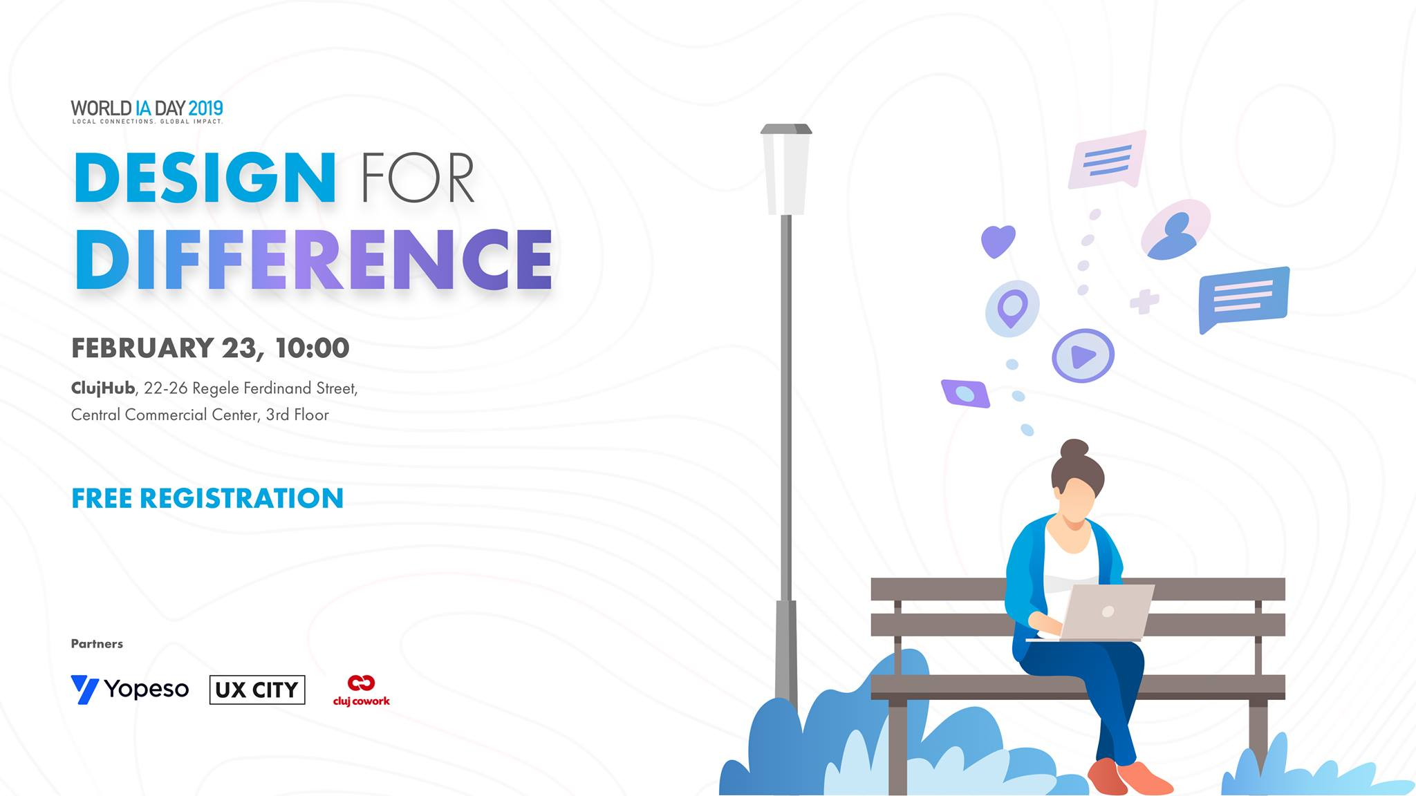 Design For Difference — World IA Day 2019