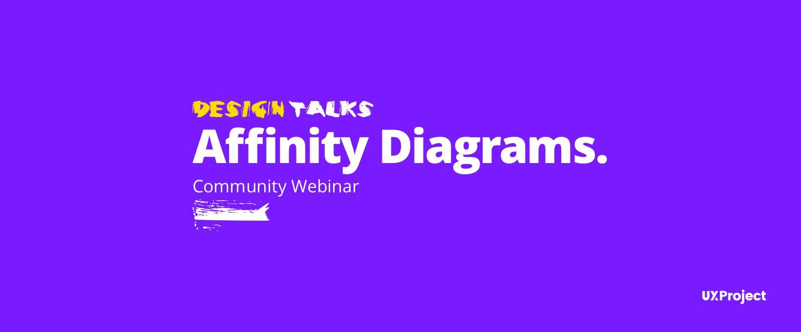 Design Talks #1 – Affinity Diagrams
