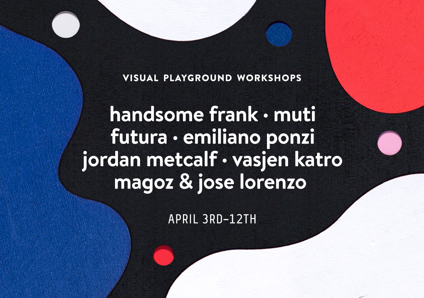 Visual Playground Workshops 2019