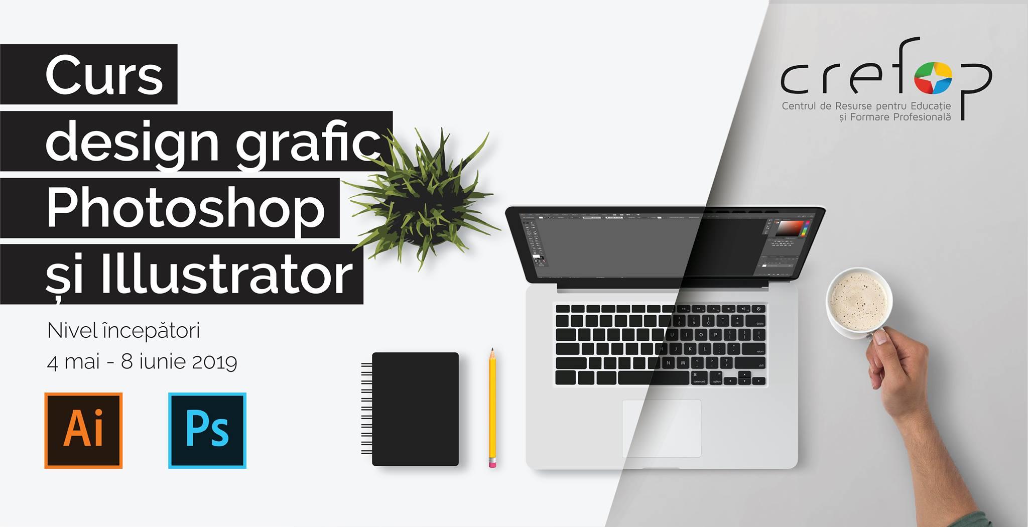 Curs de Grafic Design – Photoshop & Illustrator