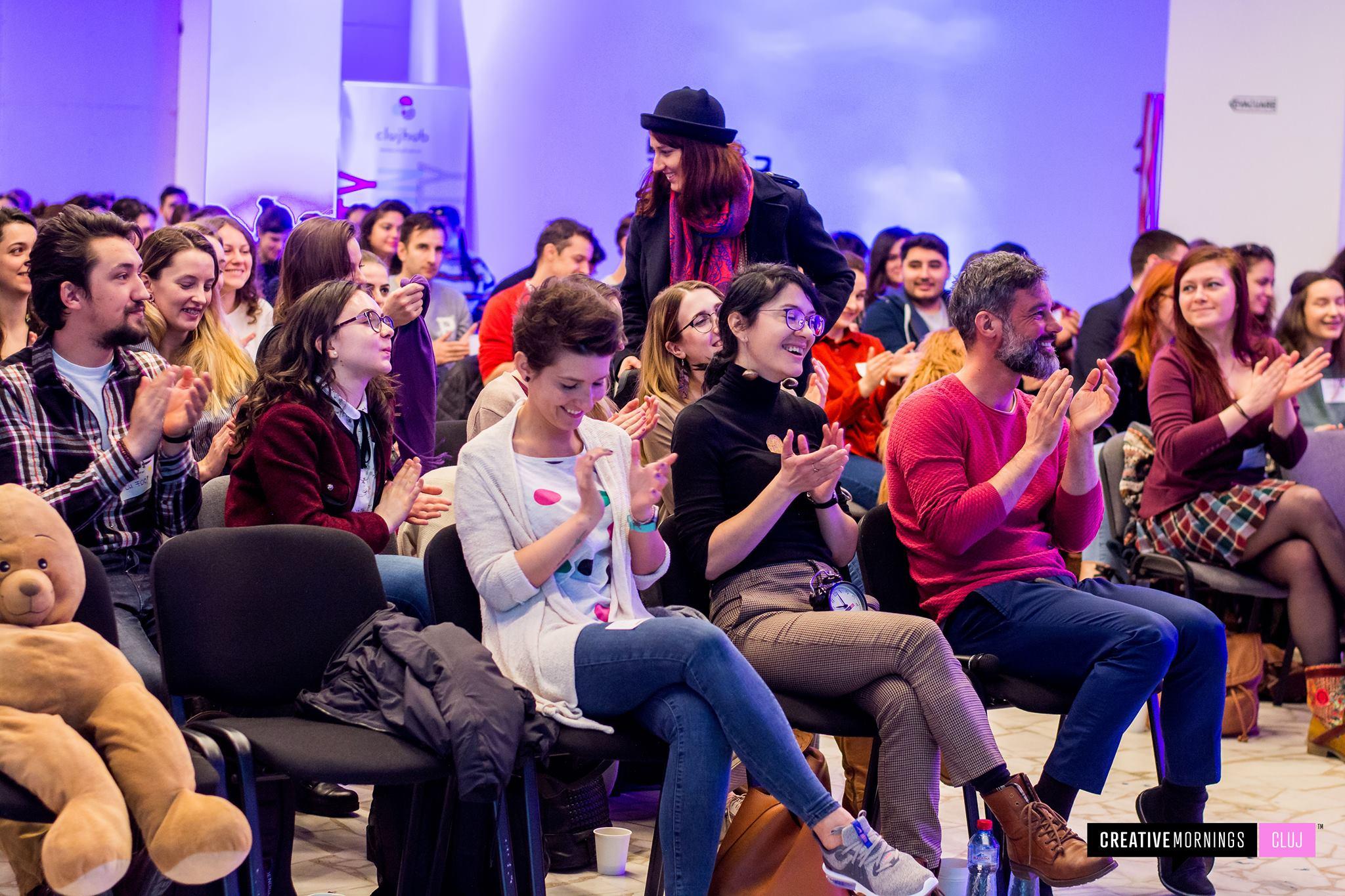 CreativeMornings Cluj on Inclusive with István Szakáts
