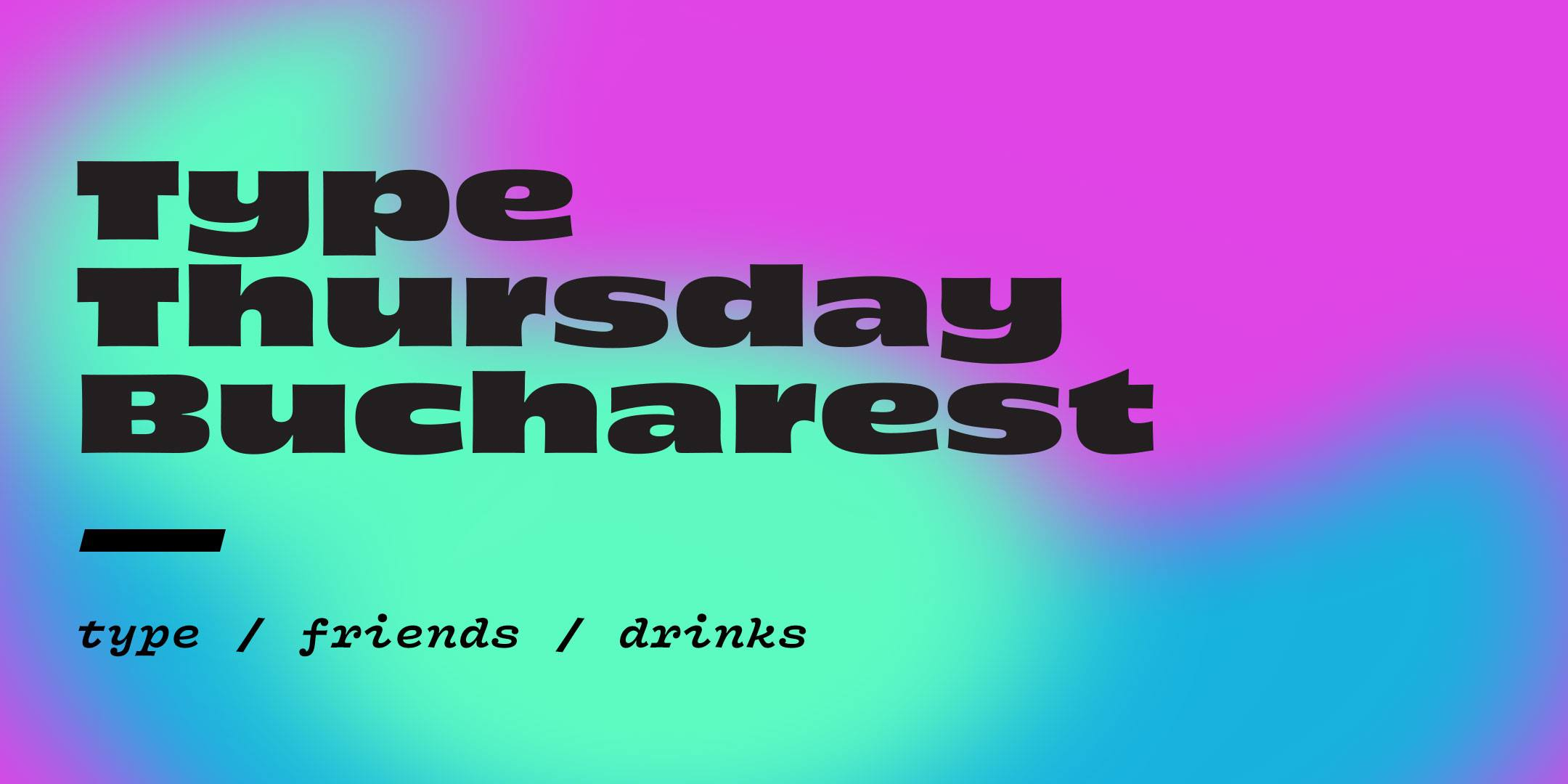 TypeThursday BUC ☛ May