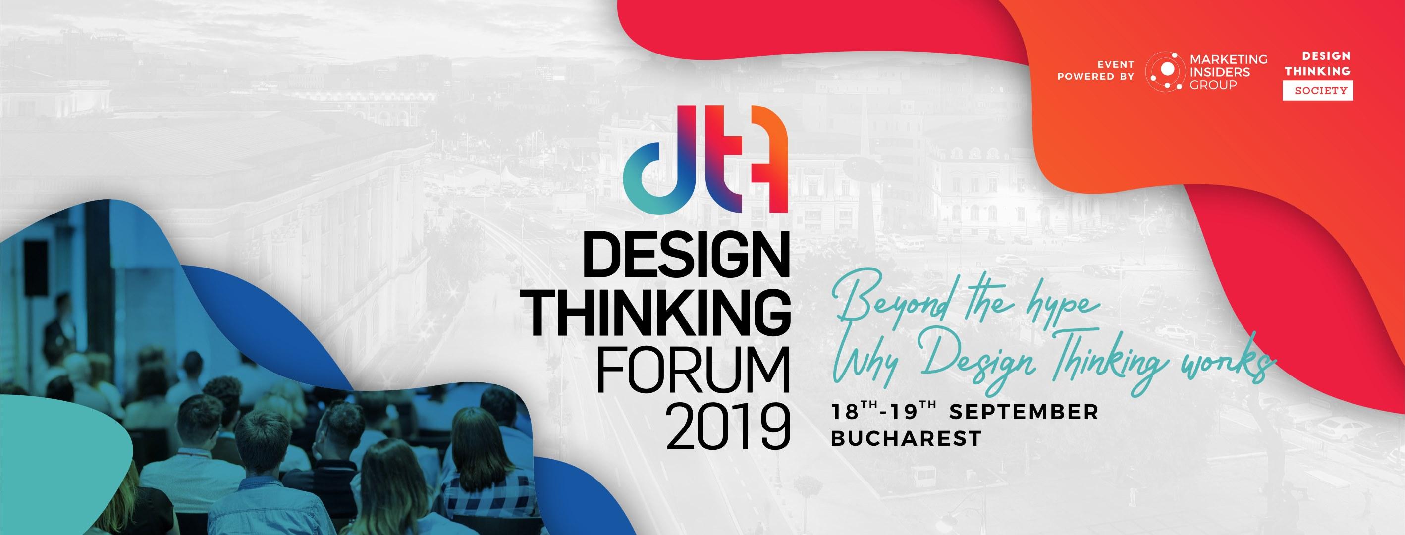 Design Thinking Forum 2019