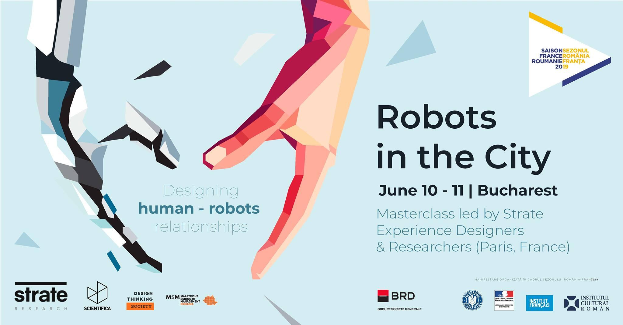 Robots in the city – Design Masterclass