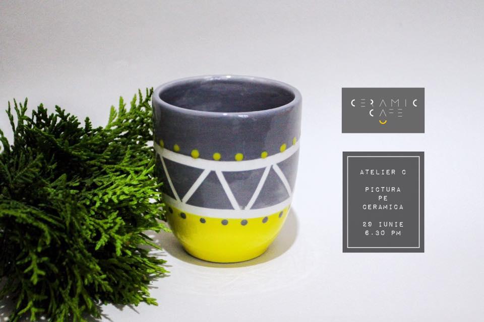 Atelier C | Pictura pe ceramica