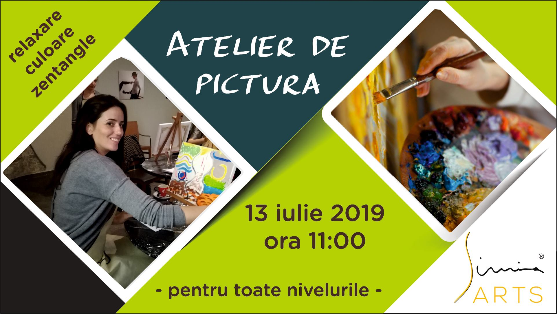 Atelier de pictura – zentangle