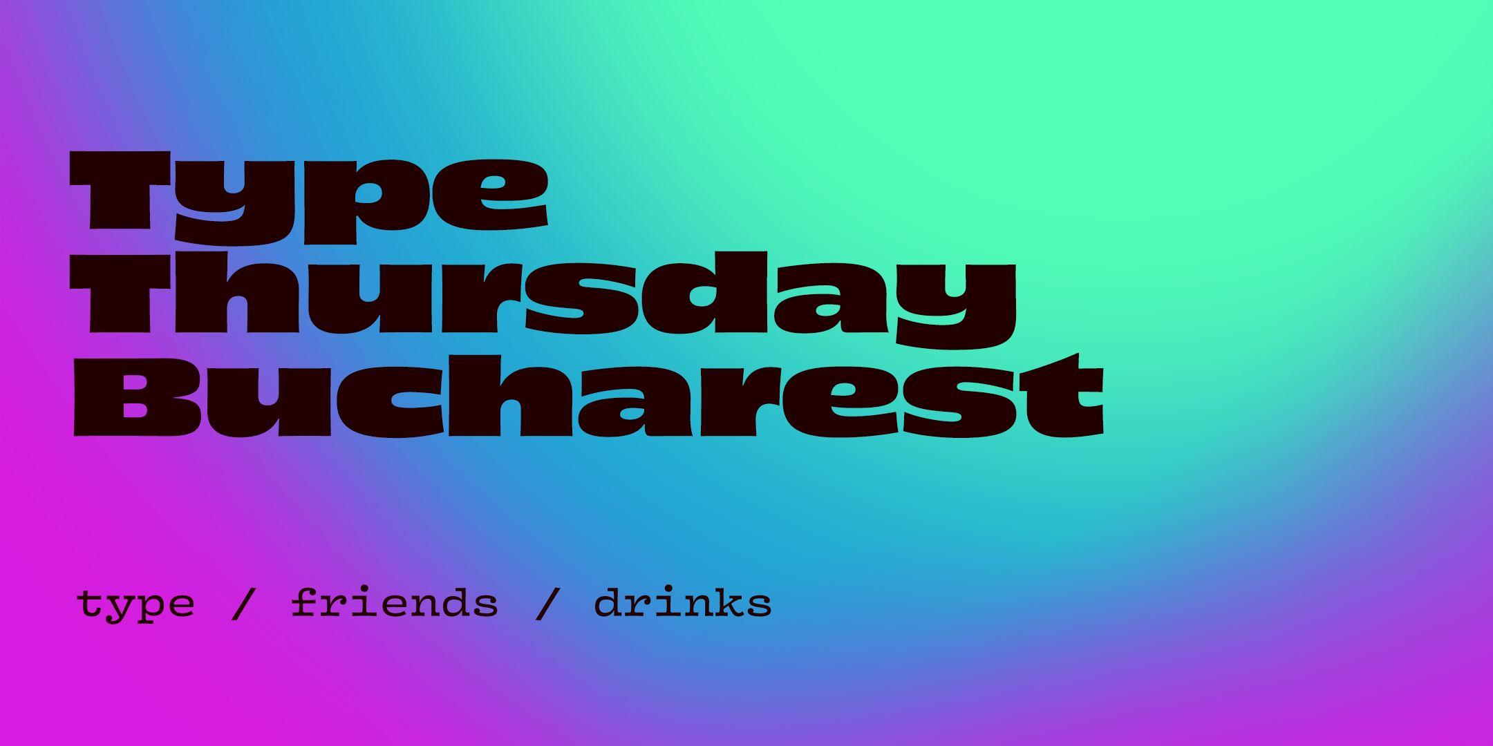 TypeThursday BUC ☛ September