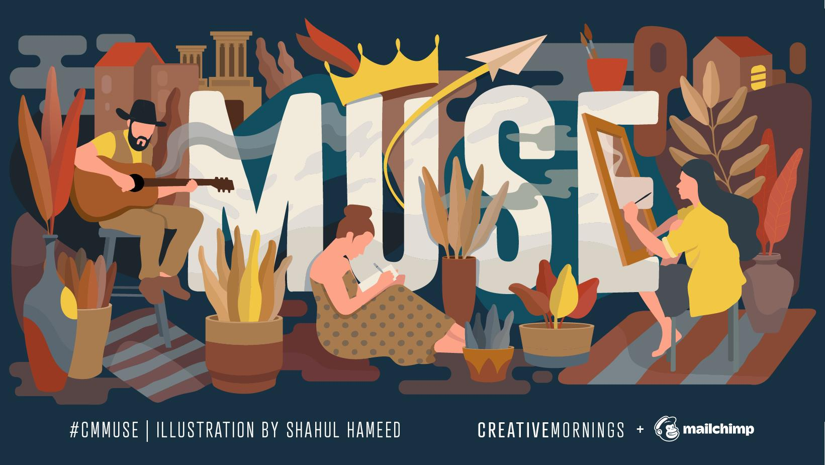 "September is ""Muse"" – CreativeMornings Iasi"
