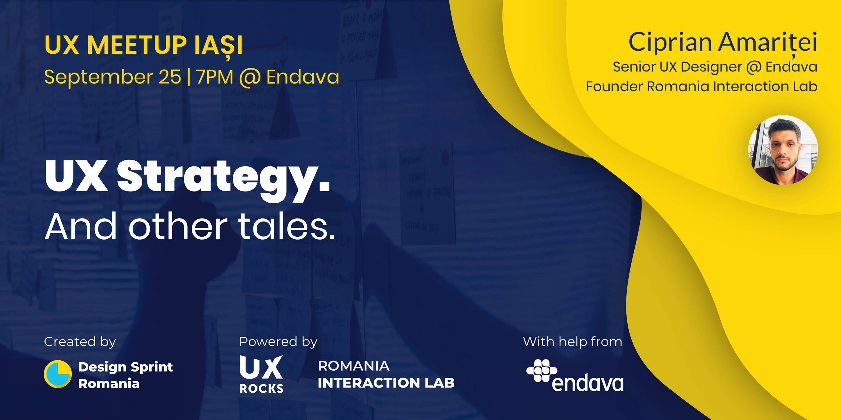 UX Meetup Iasi #2 – UX Strategy. And other tales.