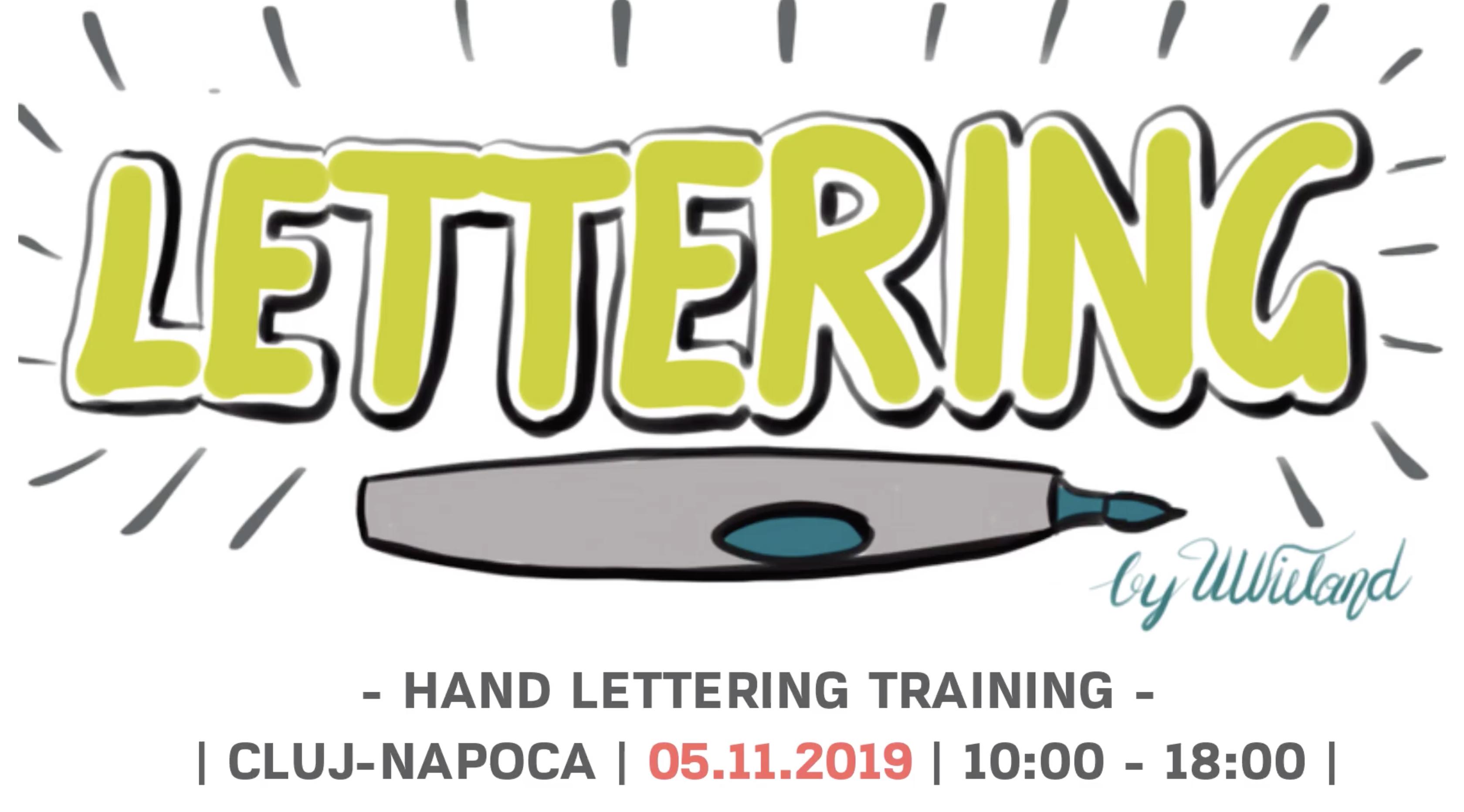 Hand Lettering Trainig