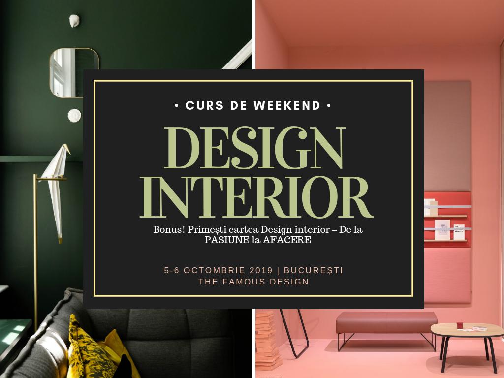 Cursul Tău Intensiv de Design Interior