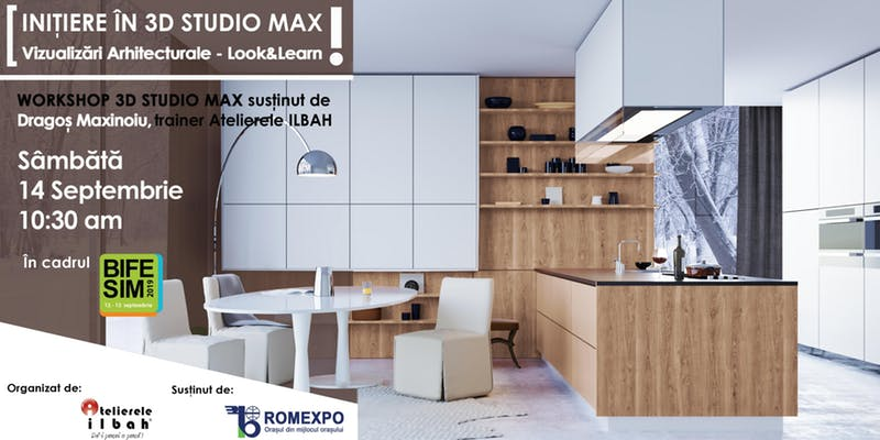 Initiere in 3ds MAX Vizualizari arhitecturale – Look and Learn