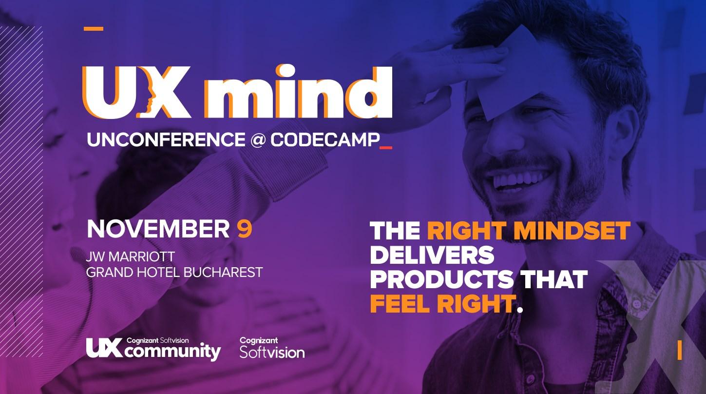 UX Mind Unconference @Codecamp Bucharest