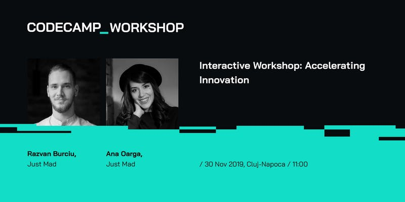 Interactive Workshop: Accelerating Innovation @Codecamp Cluj