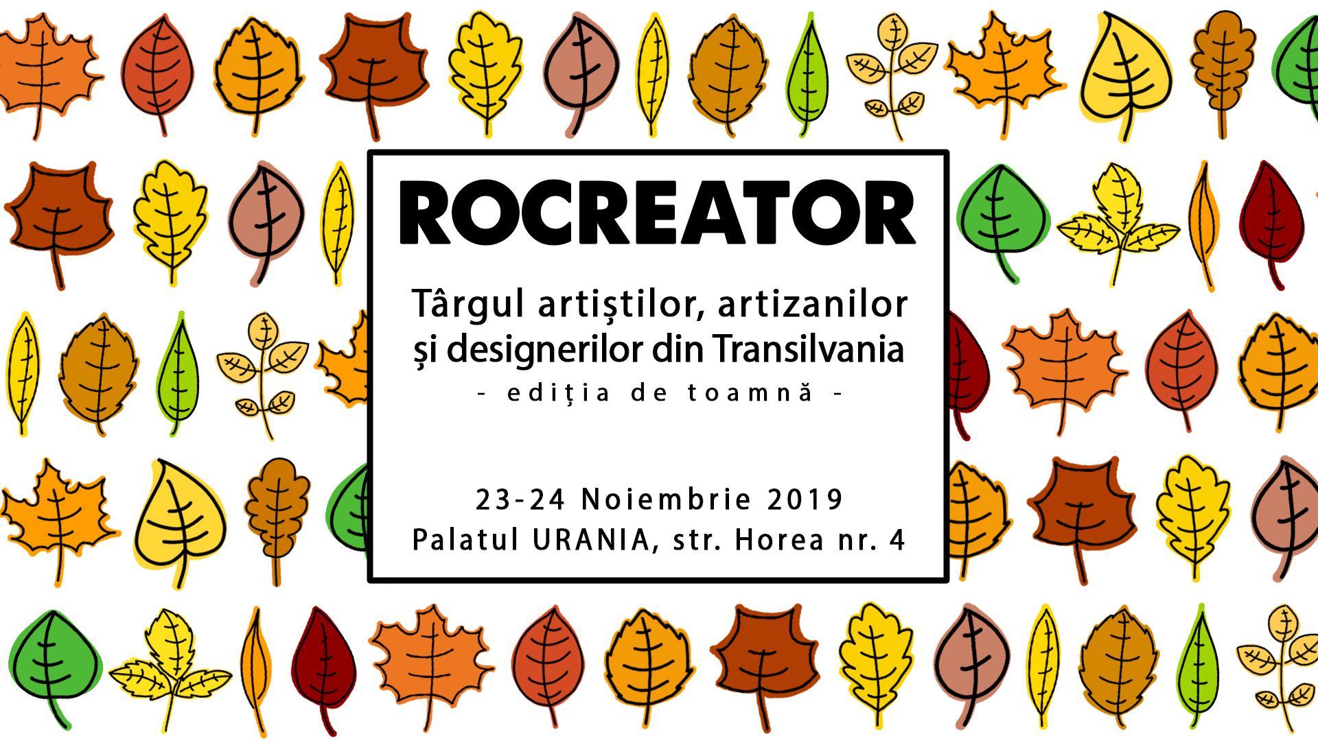 RoCreator – Târgul artizanilor și designerilor din Transilvania