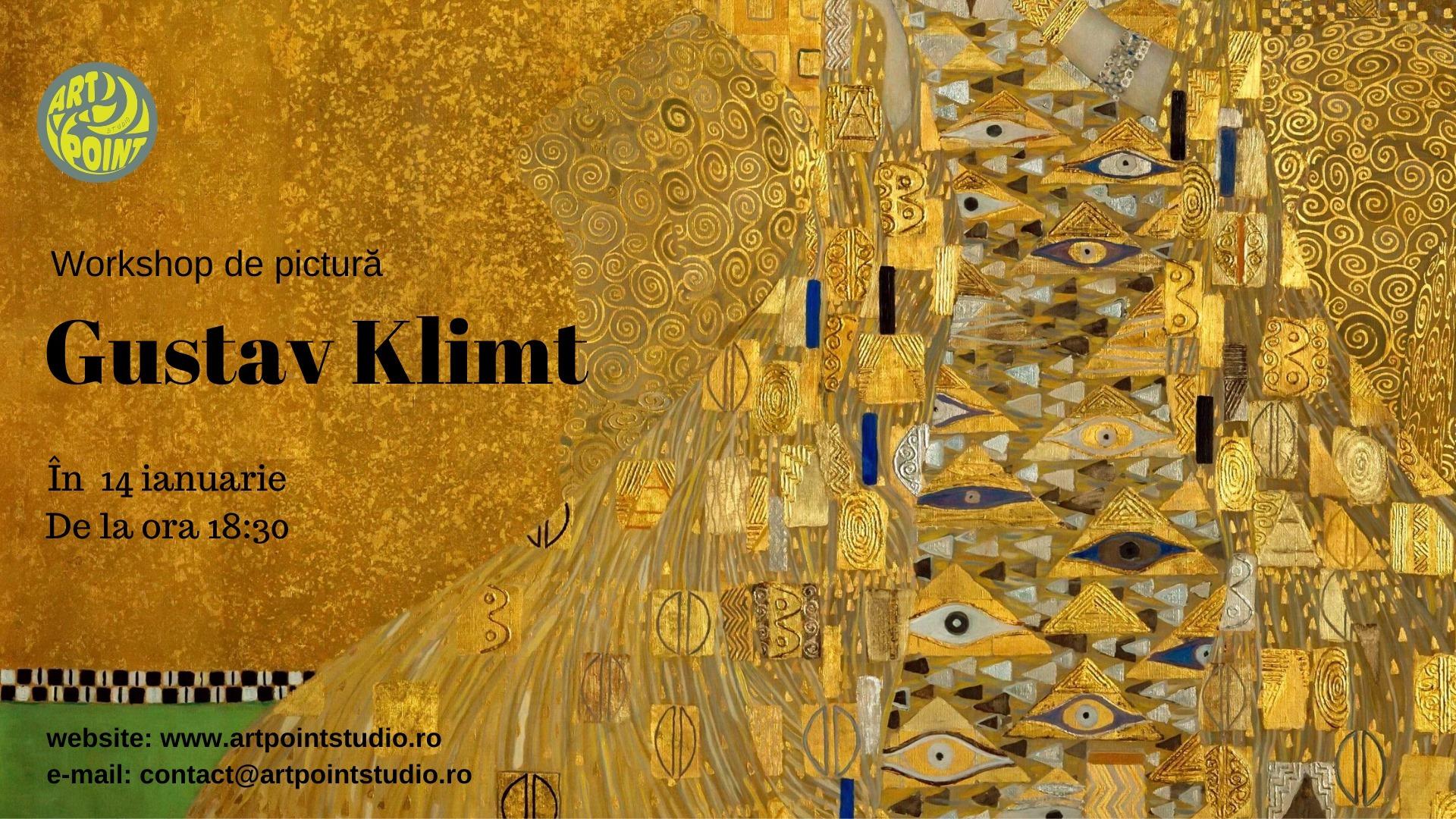 Workshop de pictura inspirat de Gustav Klimt