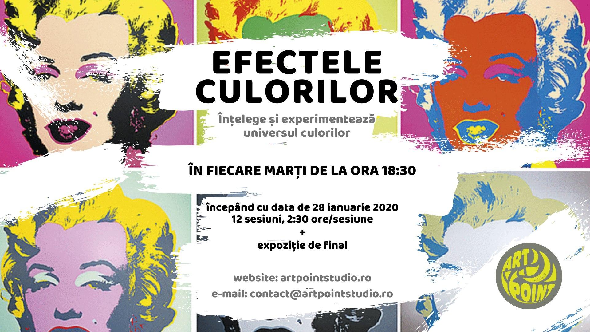Efectele culorilor – curs de arta