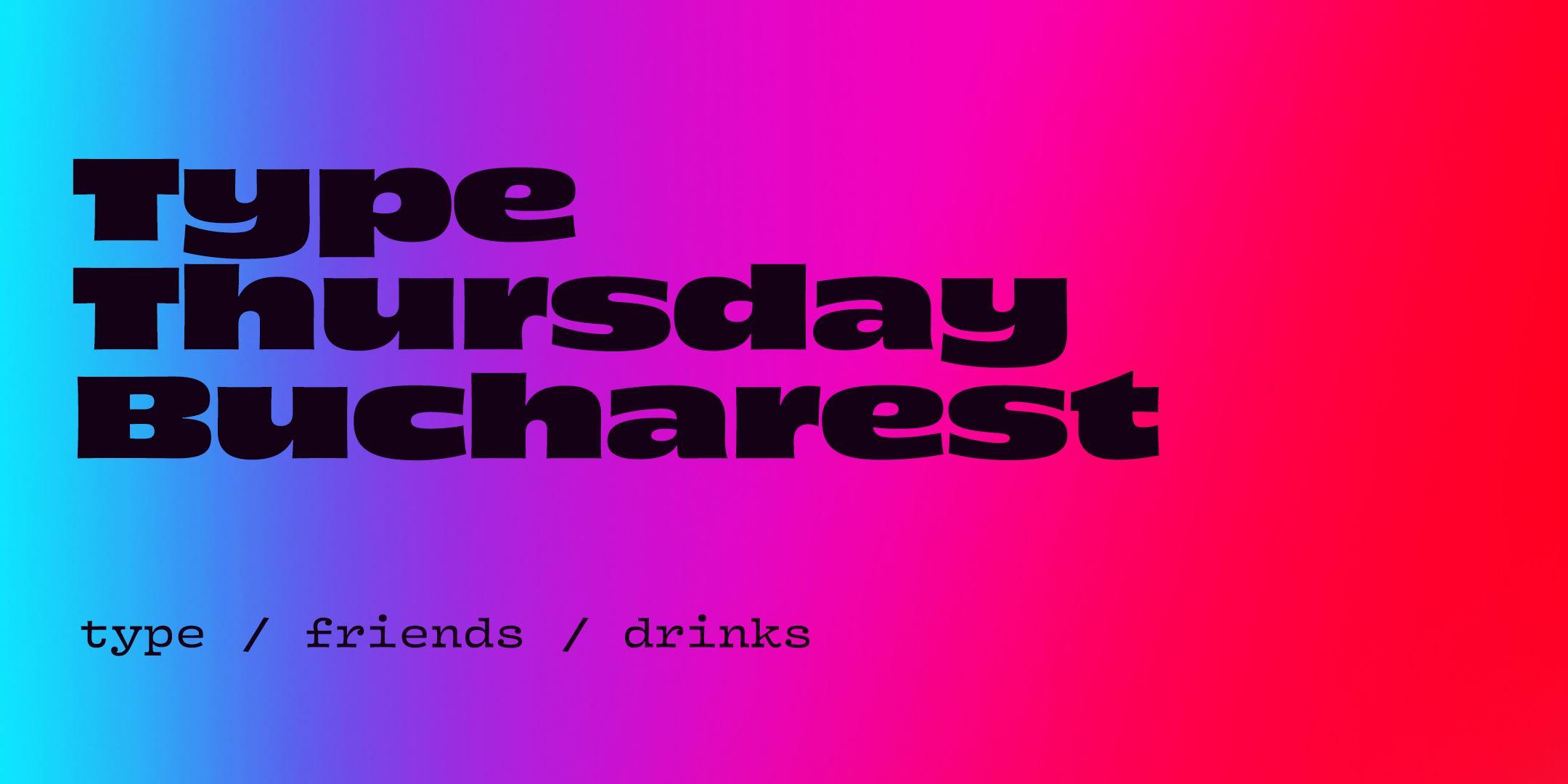 TypeThursday BUC ☛ January
