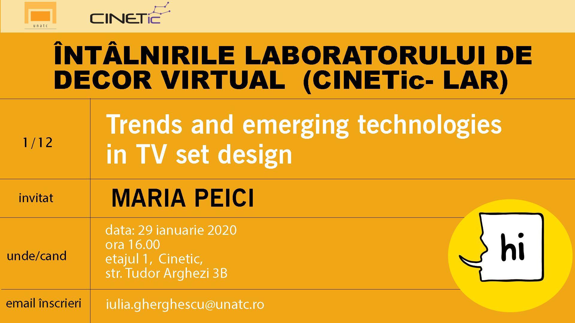 Trends and emerging technologies în TV set design