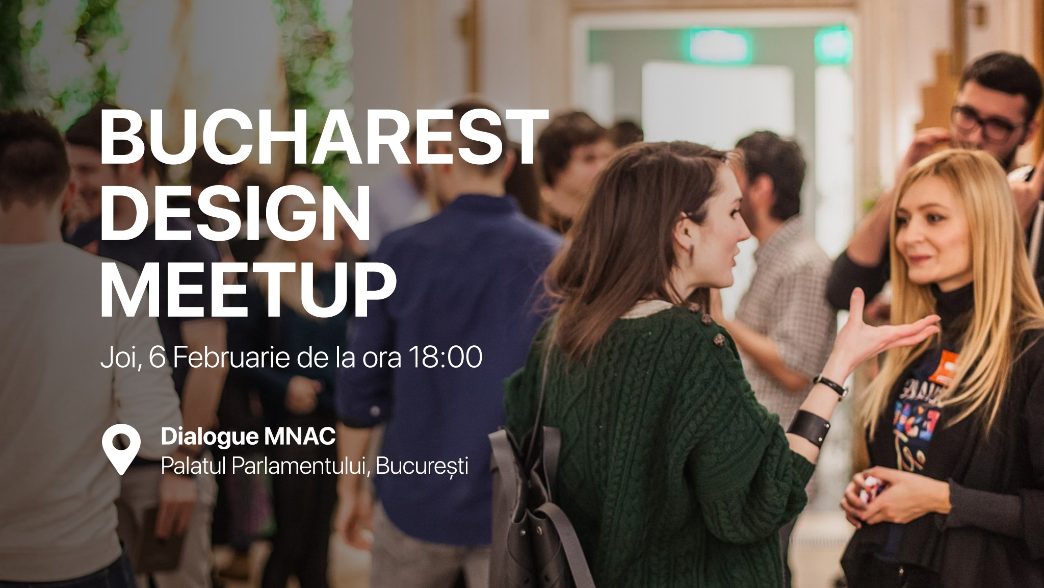 Bucharest Design Meetup #20