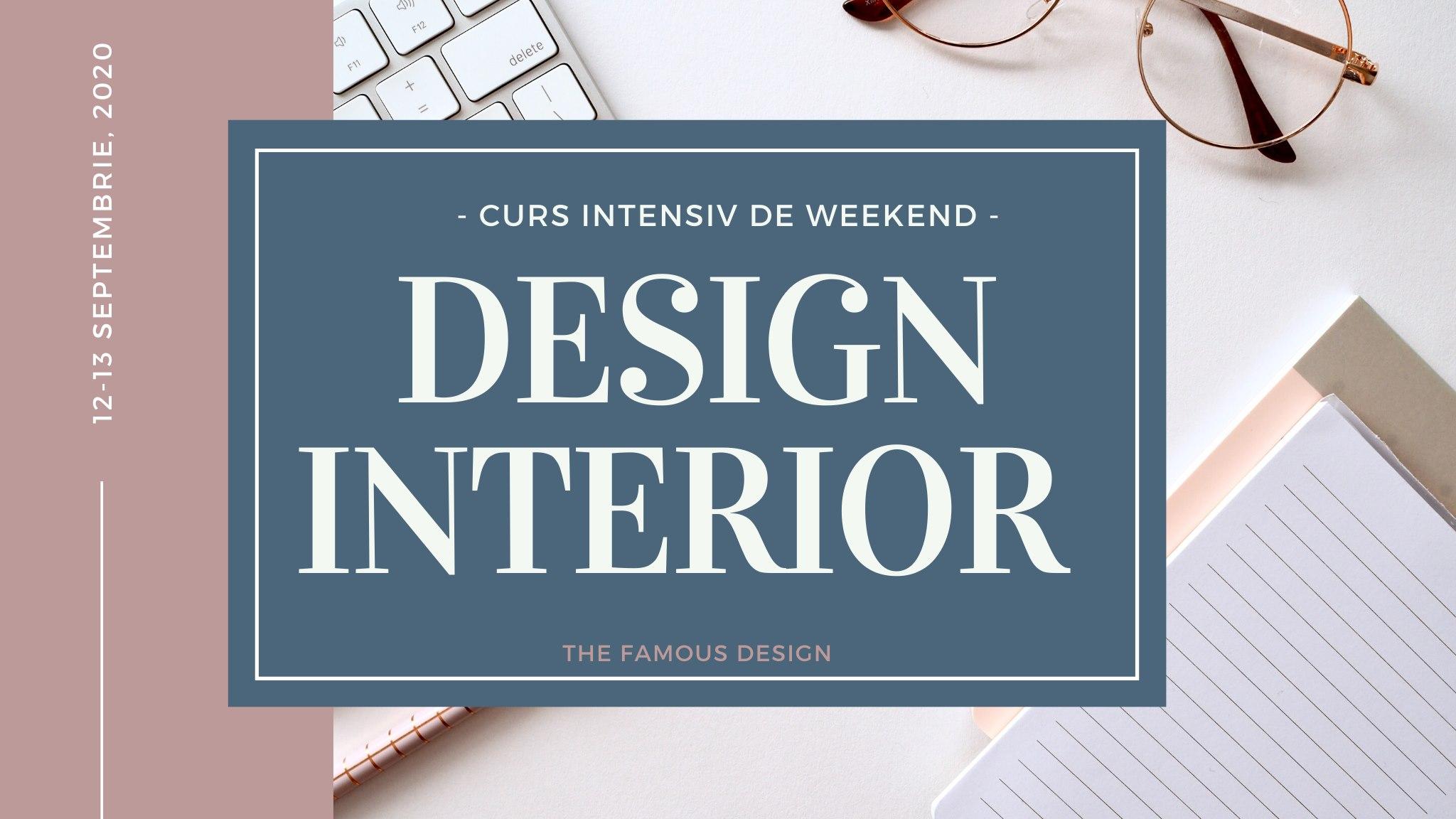 Curs Intensiv de Design Interior