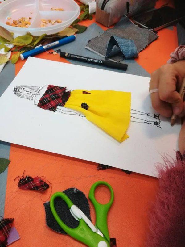 Curs de design vestimentar (copii)