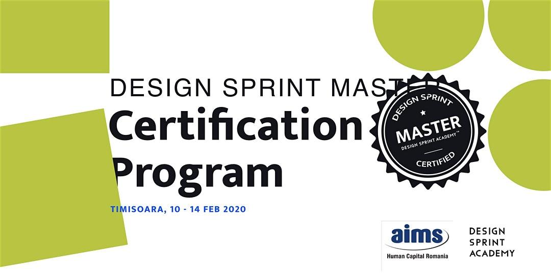 Design Sprint Master Certification Program