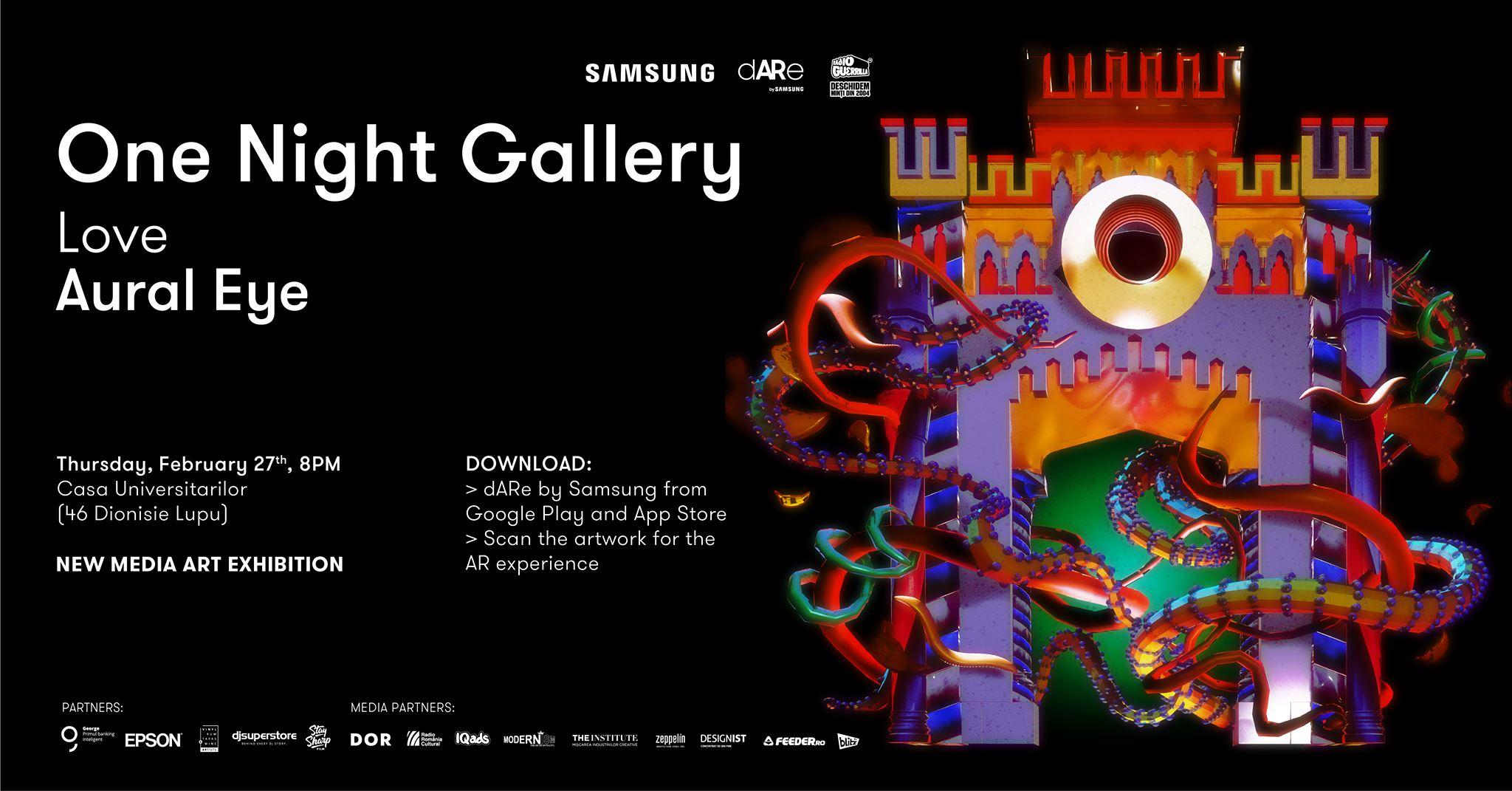 One Night Gallery // Love Aural Eye