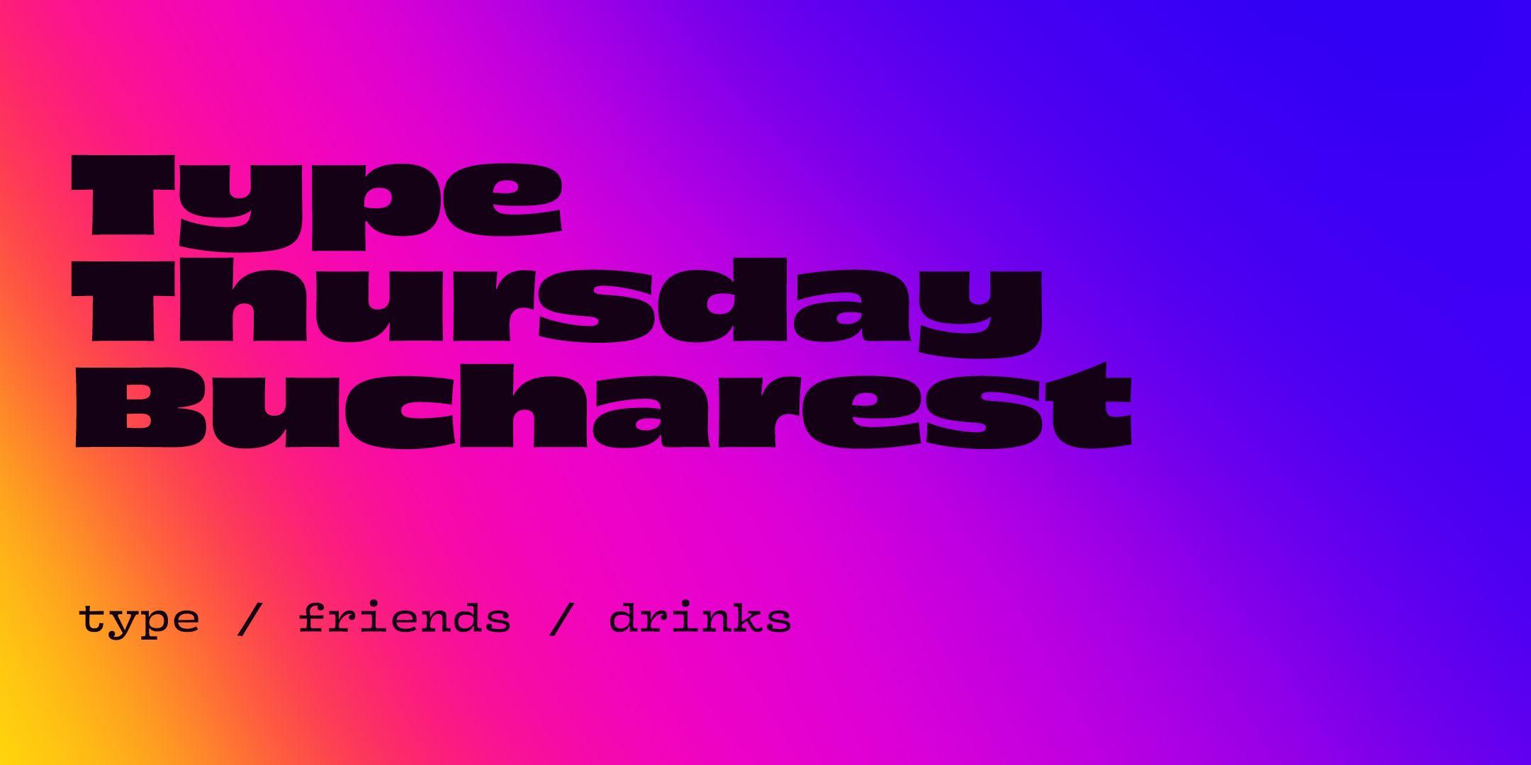 TypeThursday BUC ☛ February
