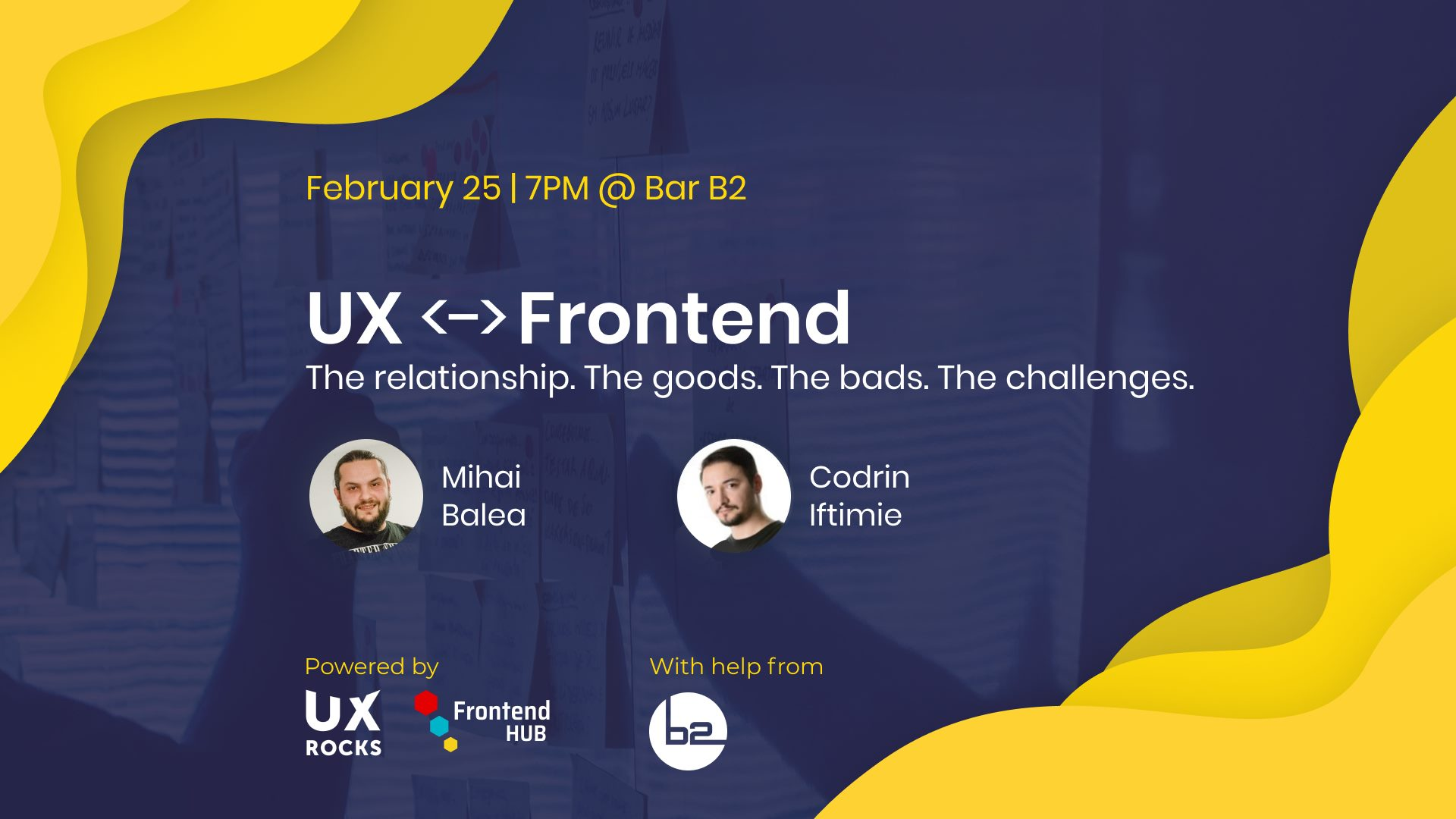 UX <-> Frontend. The relationship.