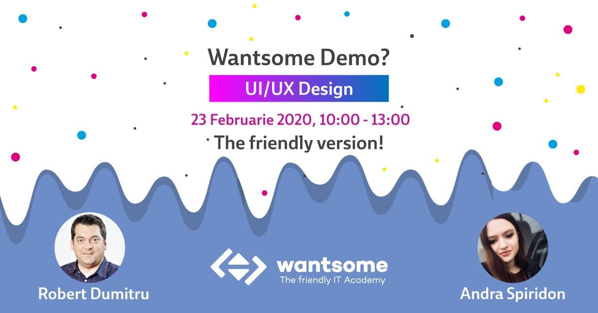 Wantsome UI/UX Design Demo? The Friendly Version!
