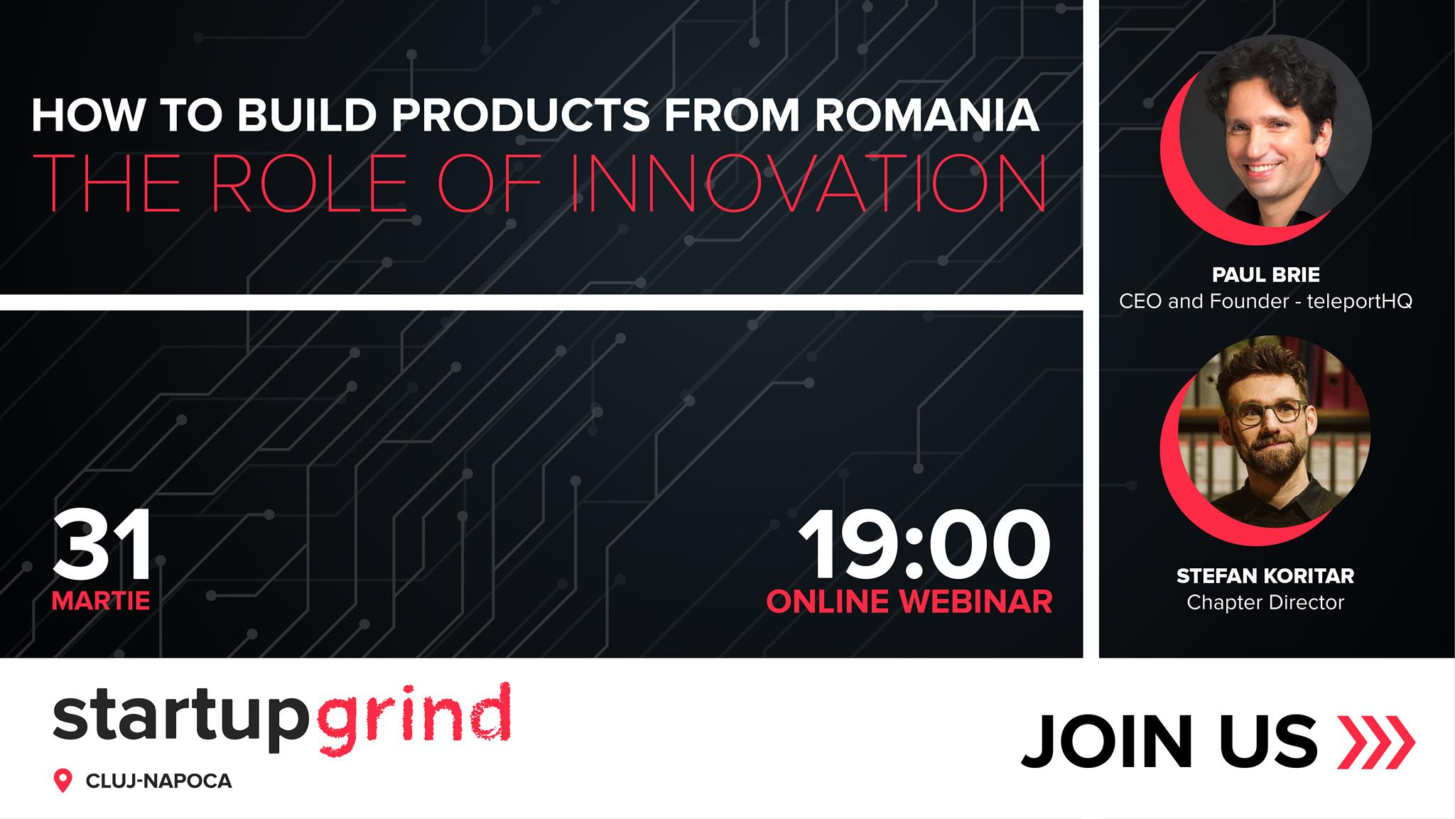 How to build products from Romania – The role of innovation
