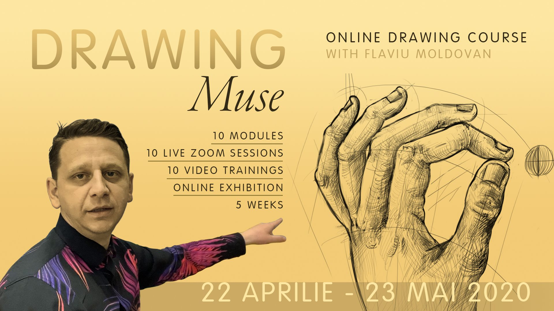 Drawing Muse – Online Drawing Course