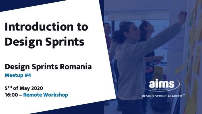 Introduction to Design Sprints – Remote Workshop
