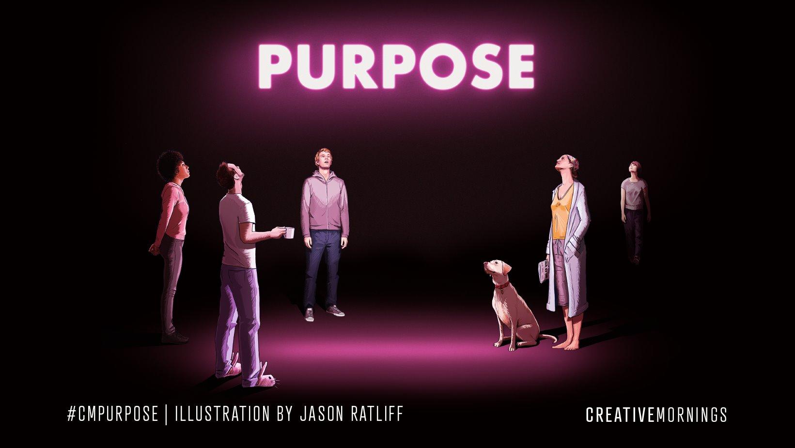 Virtual – CreativeMornings Cluj on Purpose