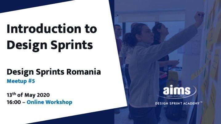 Introduction to Design Sprints – Online Workshop