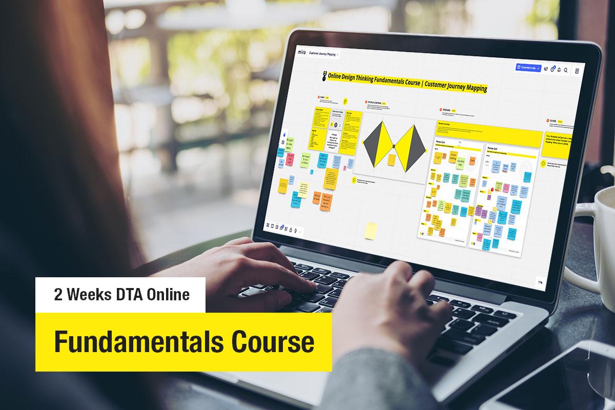 2-Week Online Design Thinking Fundamentals Course