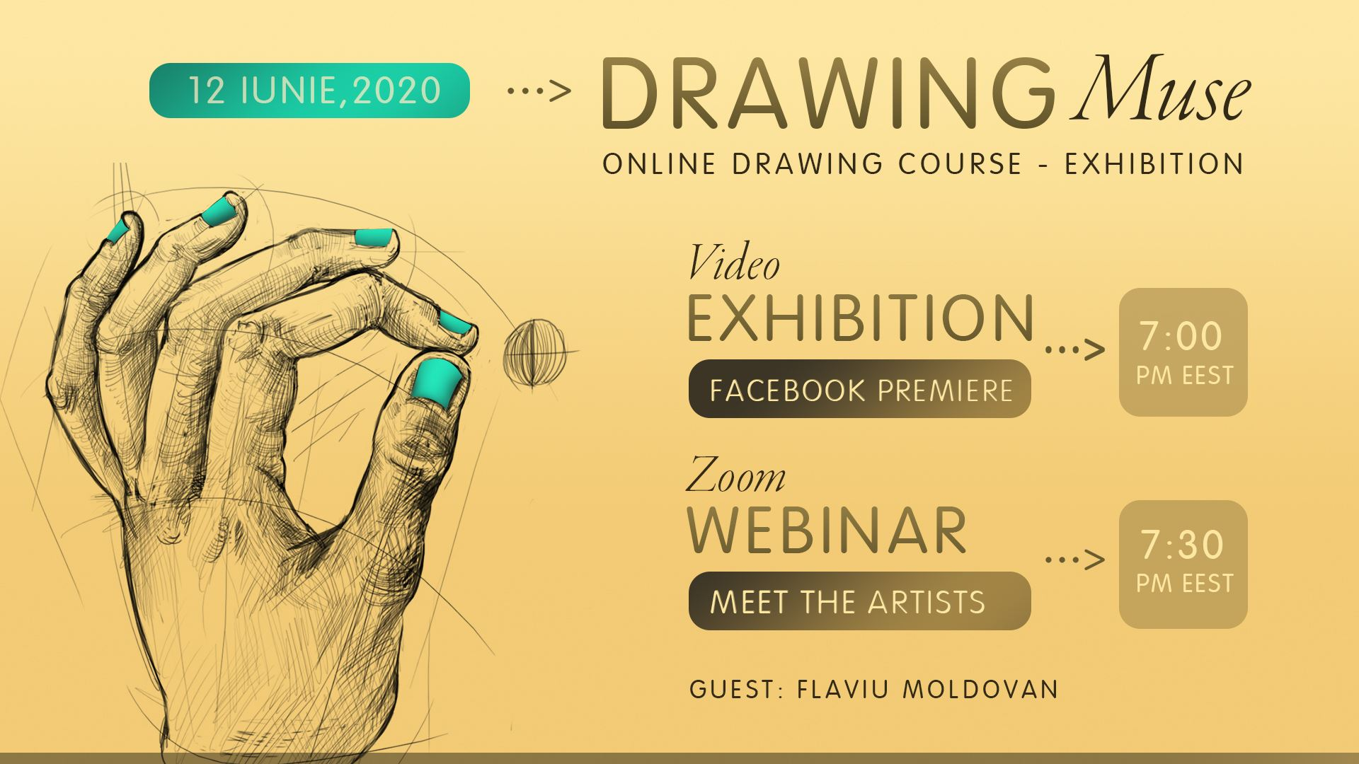 Drawing Muse Online Exhibition