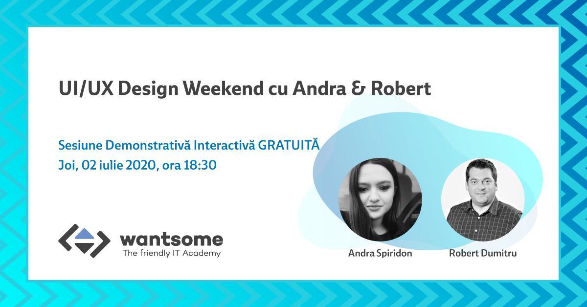 Sesiune Demo de UI/UX Design Gratuită pentru elevi și părinți