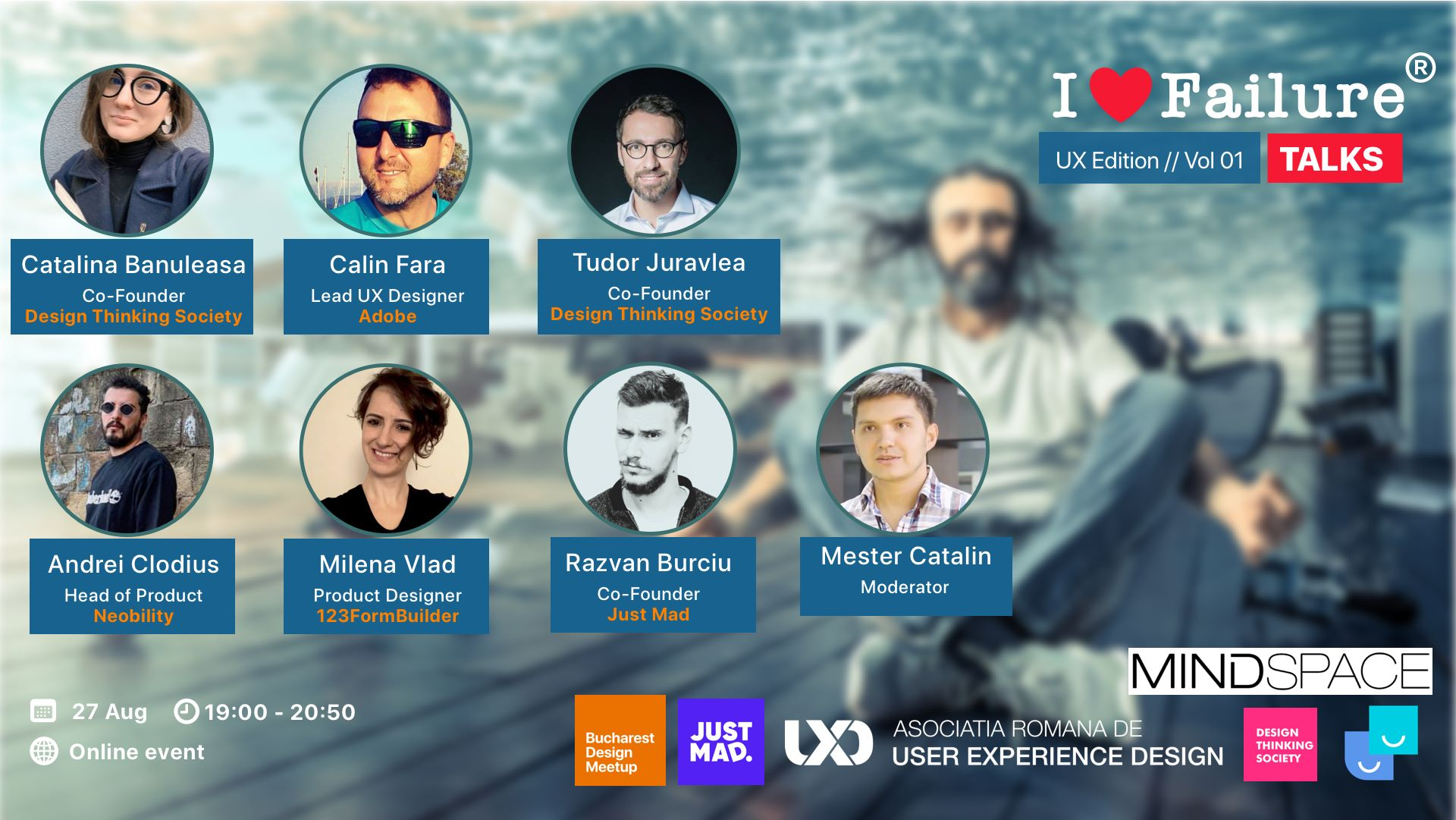 I Love Failure TALKS – UX edition // Vol 01