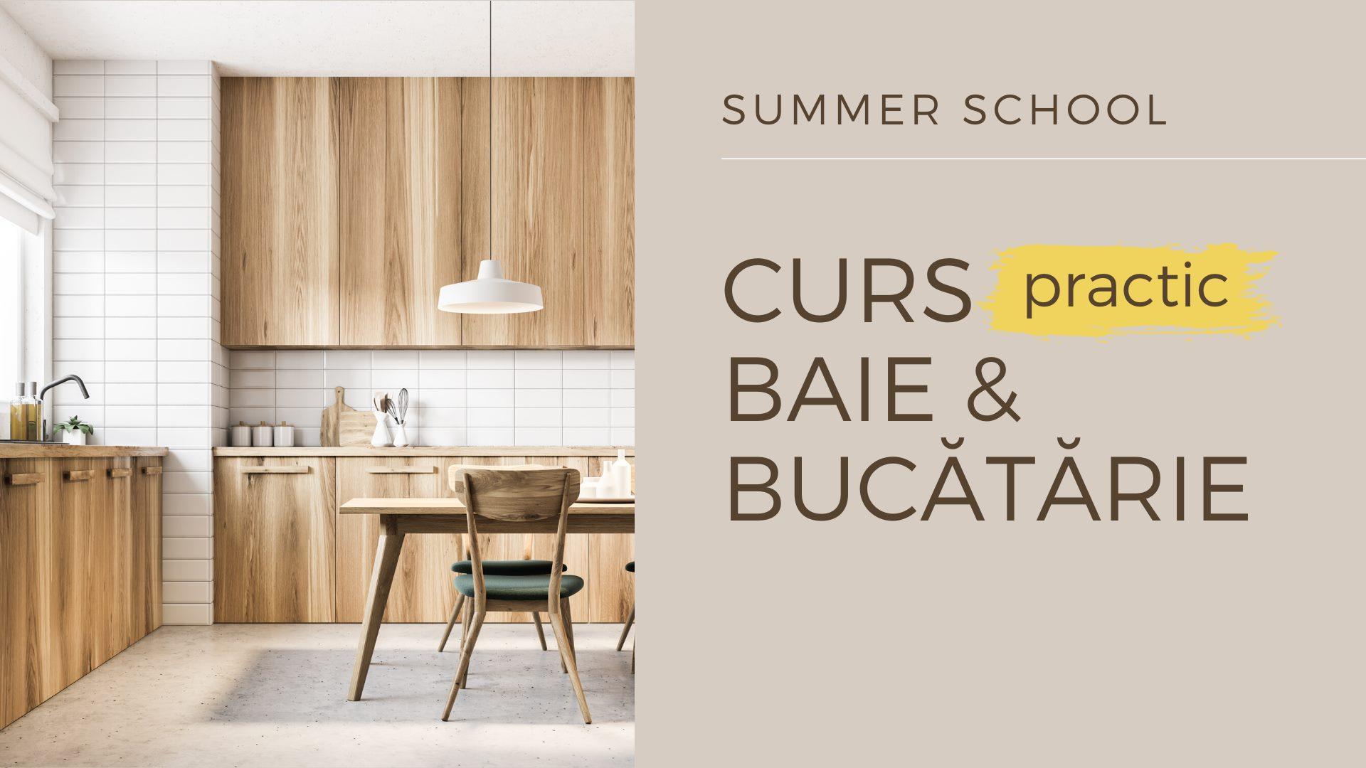 Curs Design Interior Baie & Bucătărie