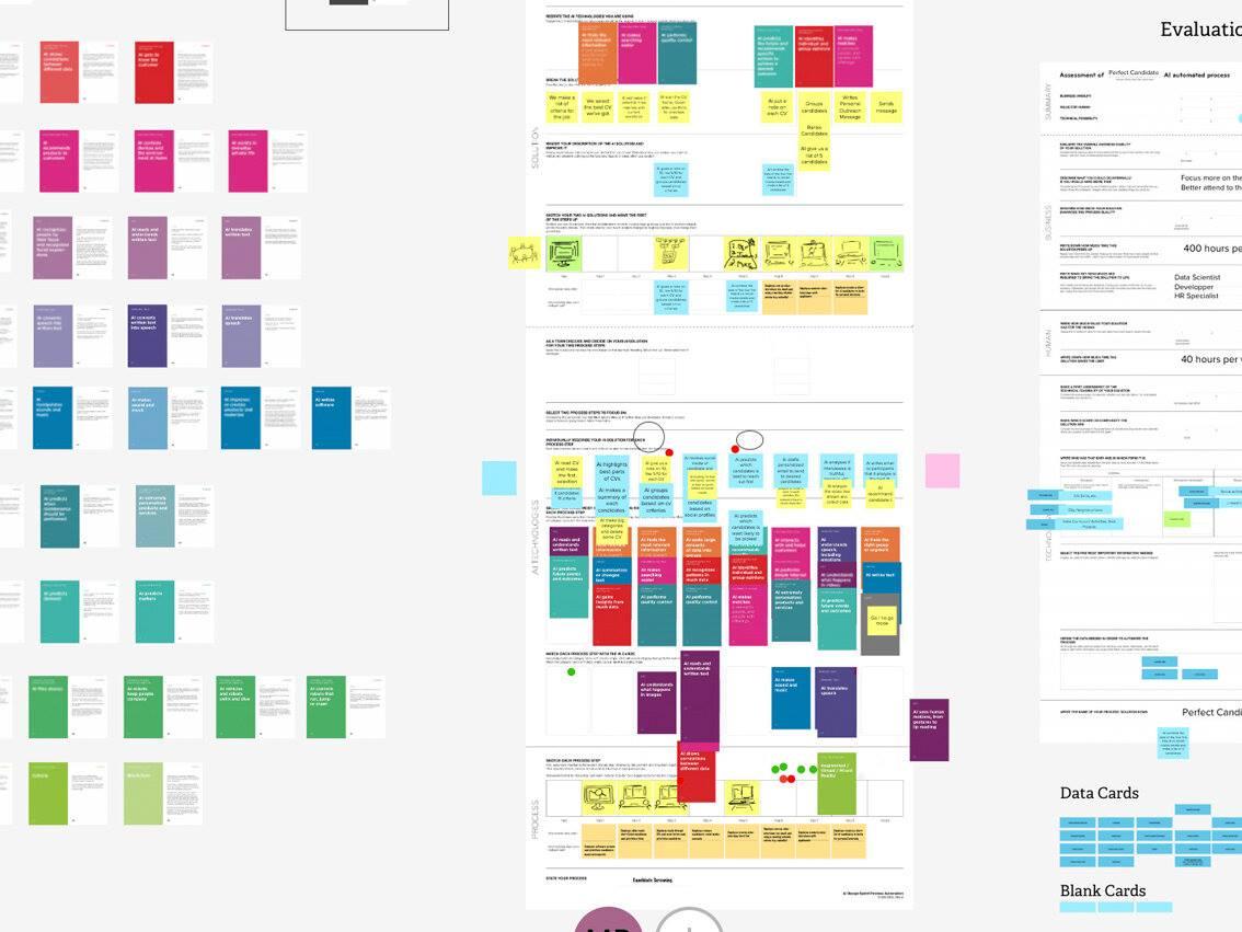 AI Design Sprint™ – learn to develop AI concepts fast