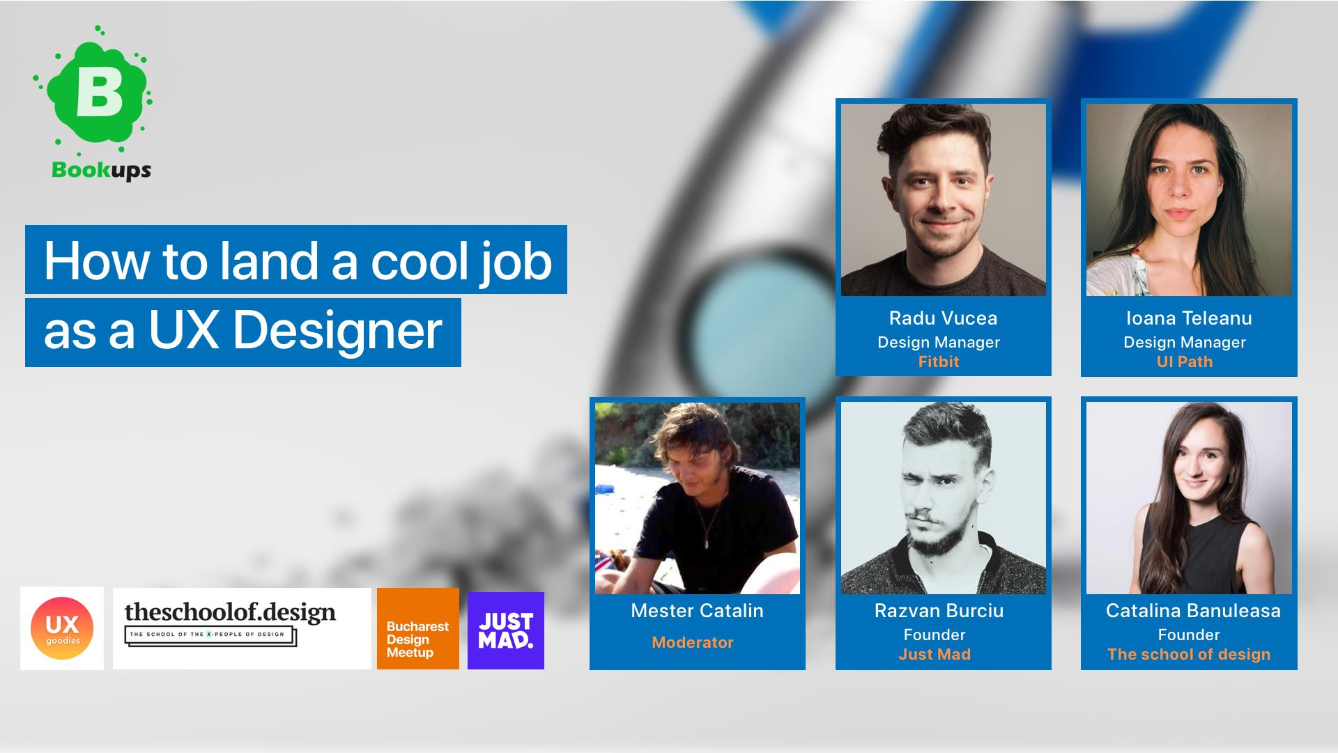 How to land a cool job as a UX Designer