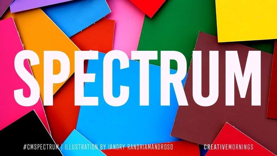 "September is ""Spectrum"" – CreativeMornings Iasi"