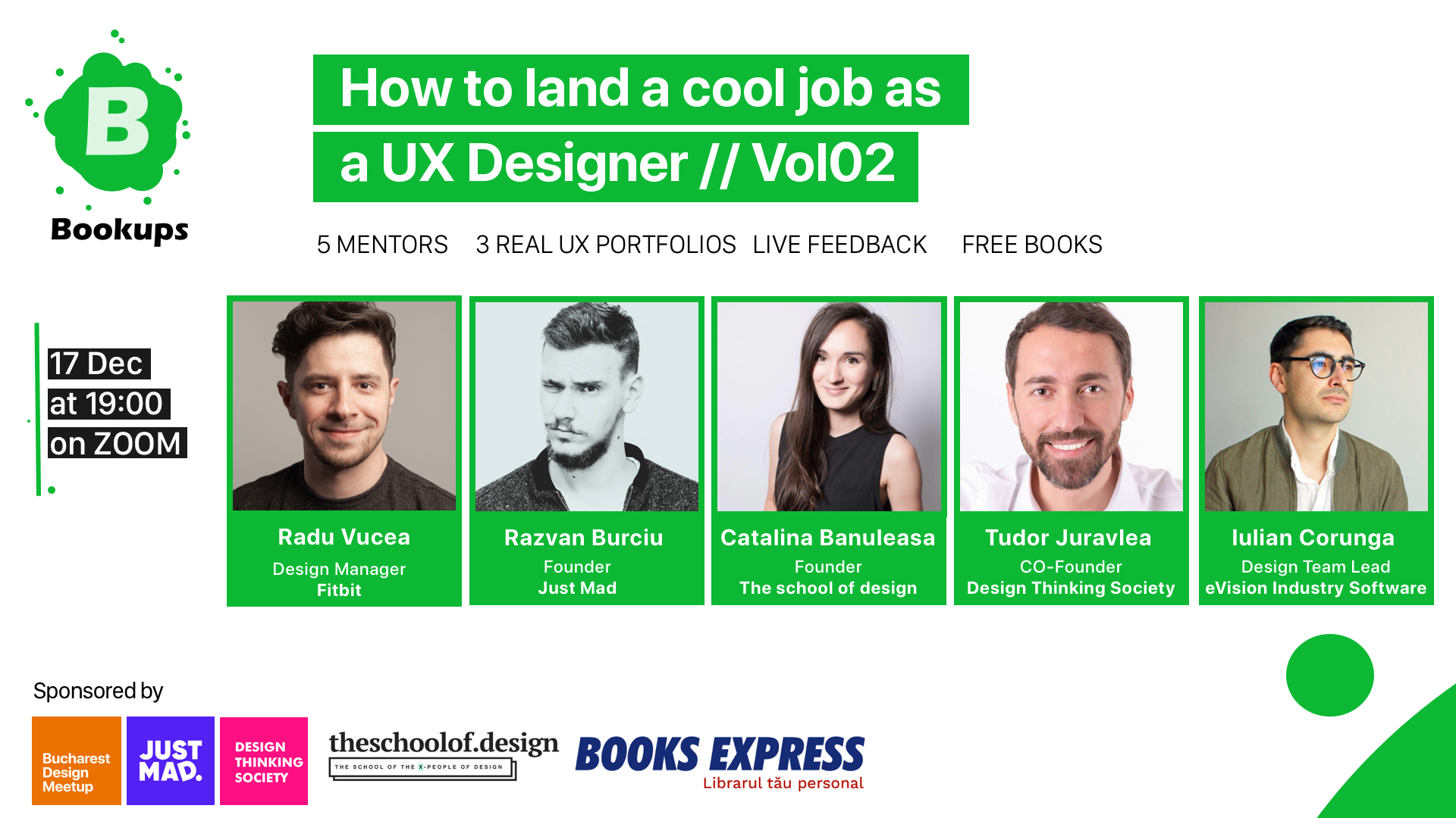 How to land a cool job as a UX Designer // Vol 02