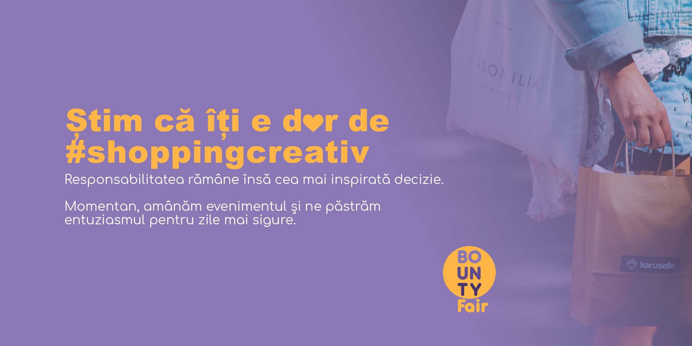 Bounty Fair – eveniment de shopping creativ