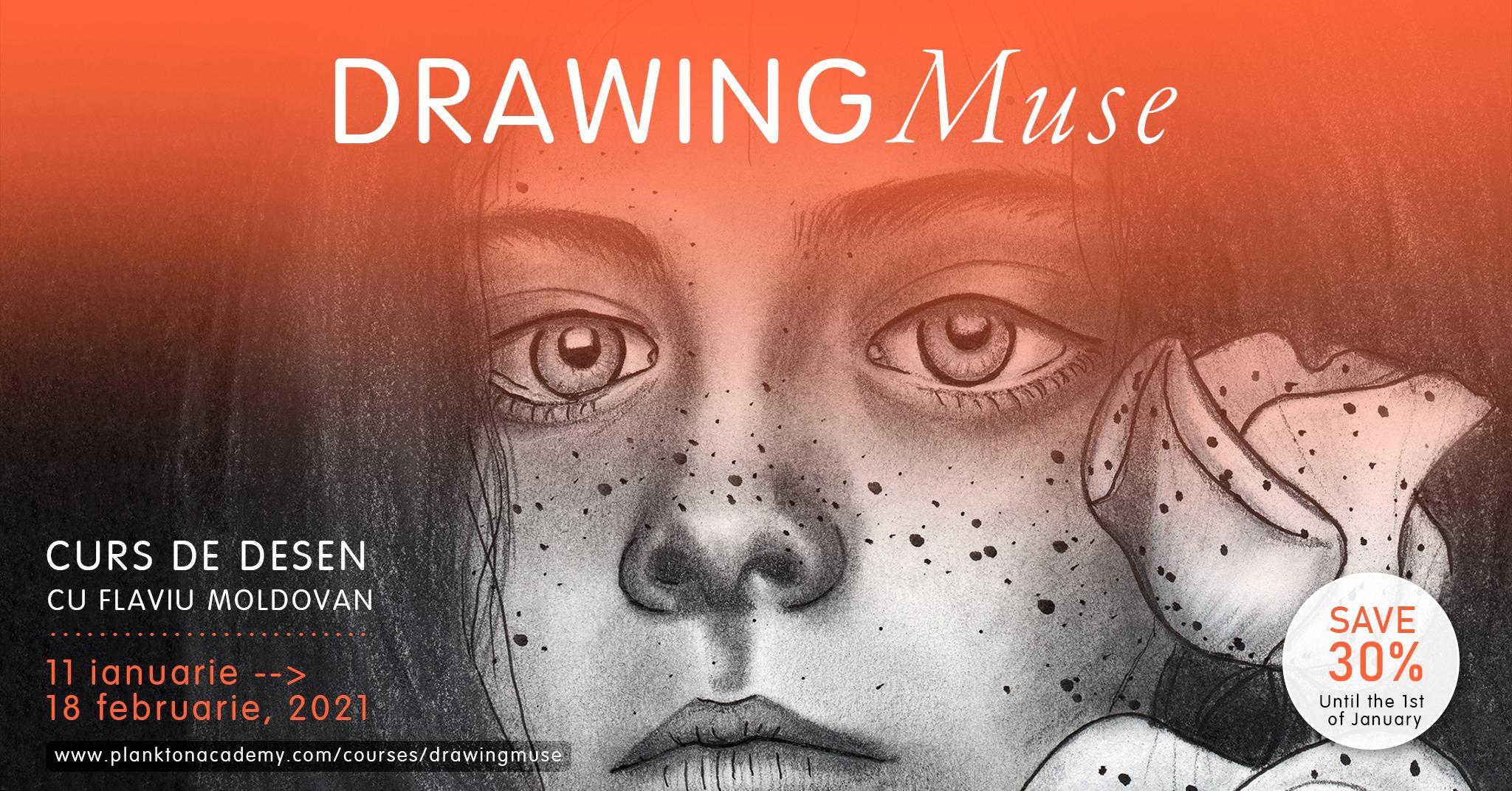 Drawing Muse – Curs de desen online